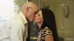 Hot salesman gets his dick wet in MILF India Summer Thumb